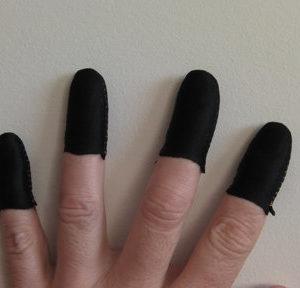 Black Guitar Fingers