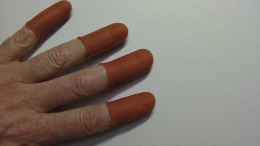 Copper Guitar Fingers