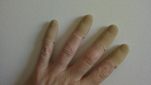 Flesh Guitar Fingers