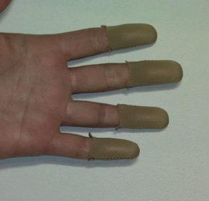 Light Brown Fingers