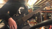 Mike Bosi Playing Guitar Glove
